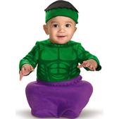 Disfraz de Hulk bebé