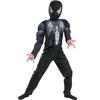 Disfraz de Amazing Spiderman Negro musculoso niño