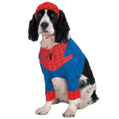 Disfraz de Spiderman para perro