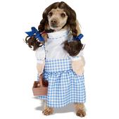 Disfraz de Dorothy del Mago de Oz para perro