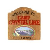 Cartel Crystal Lake Sign Viernes 13