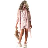Disfraz de The Walking Dead: Bloody Marie para niña