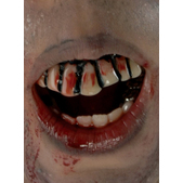 Dientes Zombie The Walking Dead Adulto