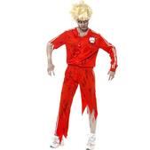 Disfraz de profesora de gimnasia zombie