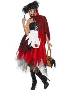 Disfraz de Caperucita Roja sangrienta