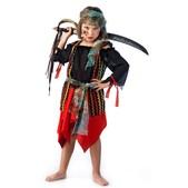 Disfraz de pirata malvada para niña