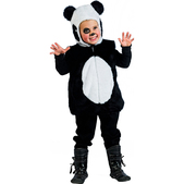 Disfraz de animalitos oso panda infantil