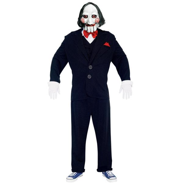 Así que ya sabes, si quieres jugar este Halloween a poner trampas a tus invitados\u2026 ¡Este es tu disfraz! Además simplemente una máscara halloween del